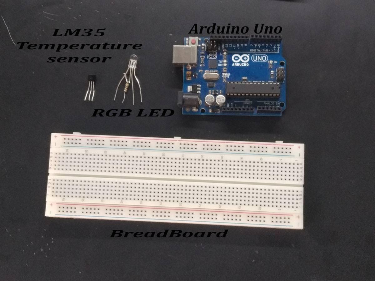 LM35 Tmperature Sensor | Earth Bondhon