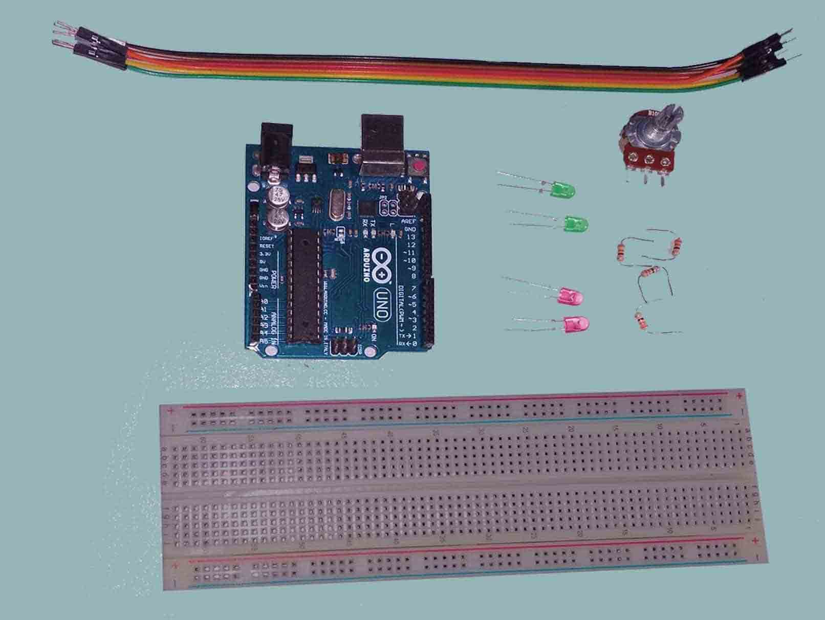 Arduino-Police-Strobe-Light-Components-parts-min