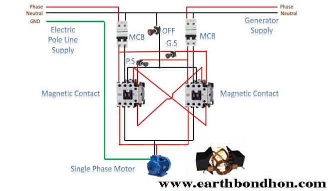 Generator Interlock Wiring Diagram