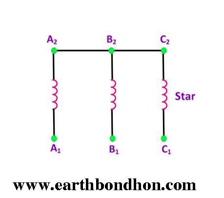 3 Phase Motor Capacitor Star Delta Connection Earth Bondhon